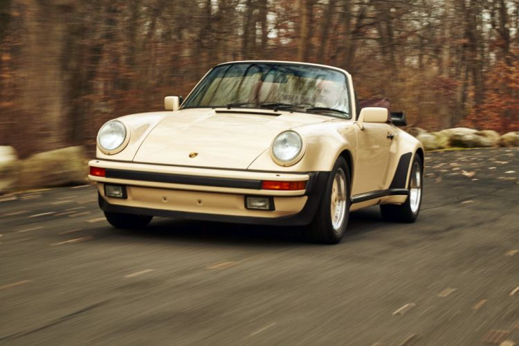 1986 Porsche 911 Turbo 3-3 Cabriolet US-spec 930 wallpaper