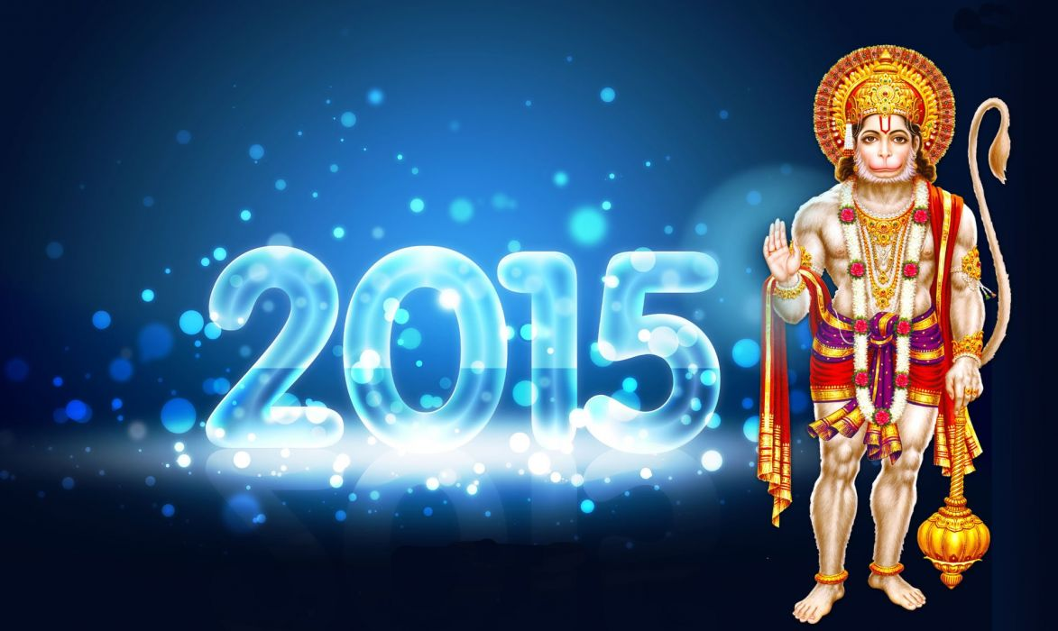 NEW YEAR 2015 holiday hindu wallpaper