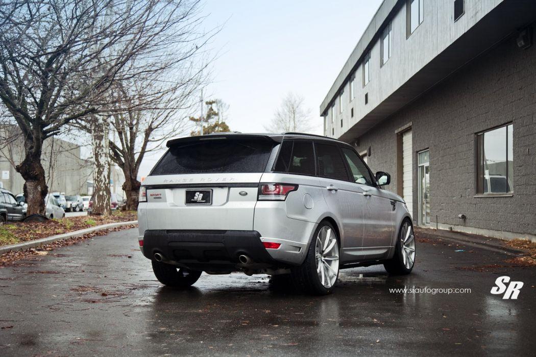 2014 sr auto group pur wheel tuning Range Rover Sport suv grey wallpaper