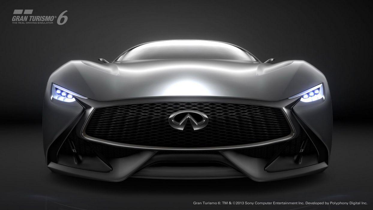 2014 Concept Gran infiniti Supercar Turismo vision wallpaper
