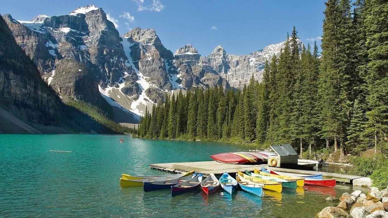 Alberta Banff National Park National Park wallpaper