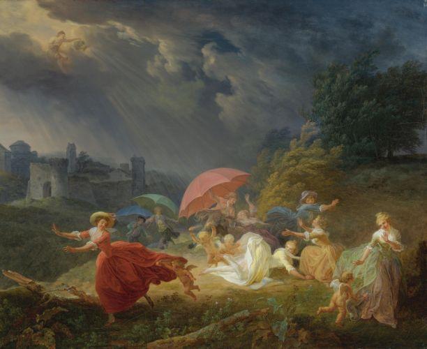 Louis Rolland Trinquesse oil art wallpaper