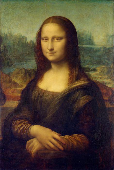 Leonardo Da Vinci art oil beautiful wallpaper