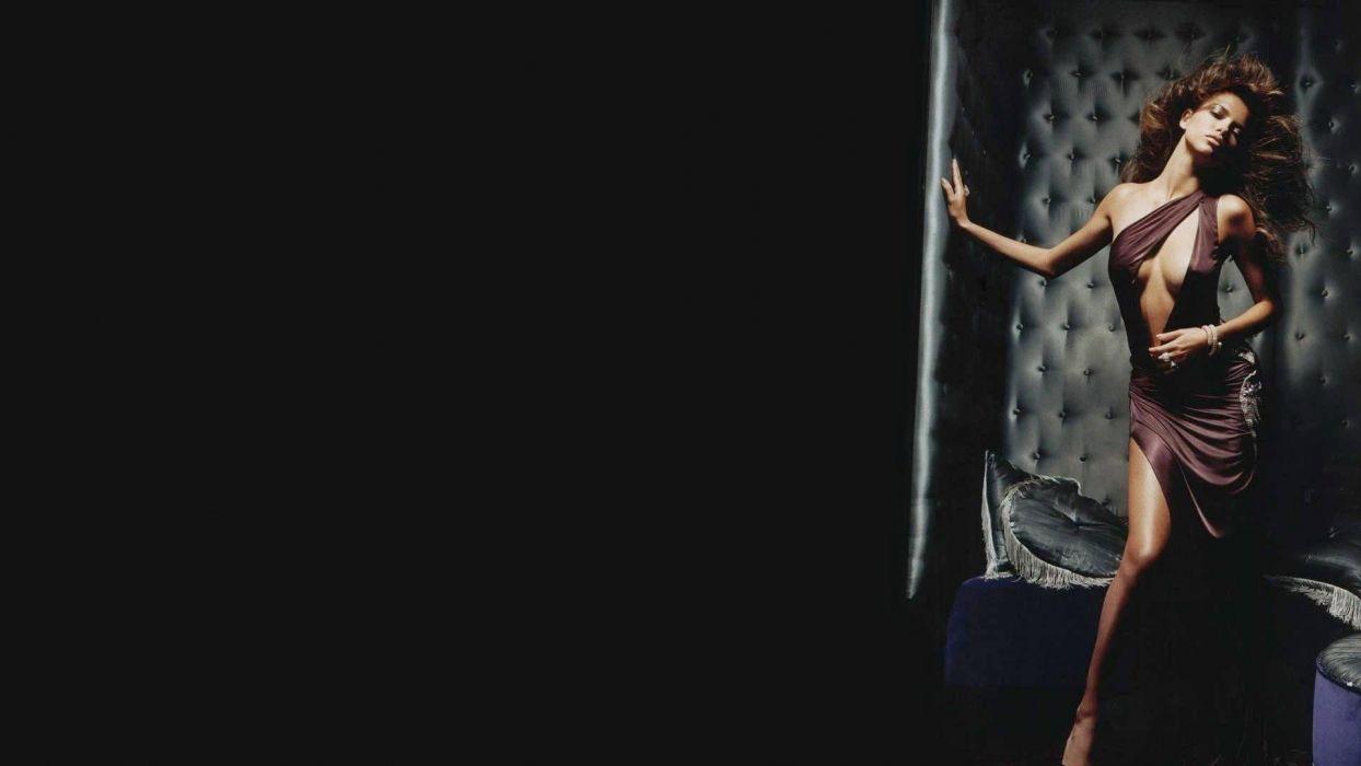 SENSUALITY - Adriana Lima celebrity model sensuous brunette girl wallpaper