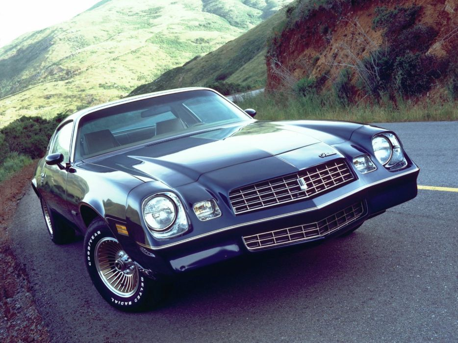 1979 Chevrolet Camaro Berlinetta muscle wallpaper