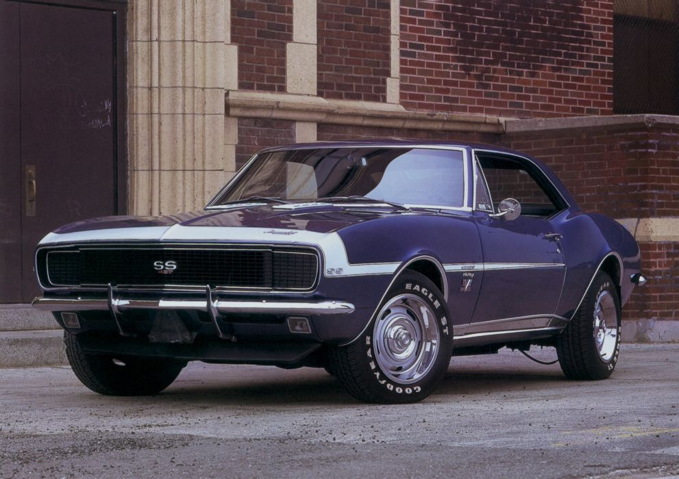 1967 Nickey Chevrolet Camaro R-S S-S 427 muscle classic wallpaper