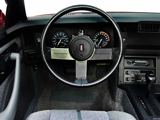 1988aei90 Chevrolet Camaro IROC-Z Convertible muscle iroc wallpaper
