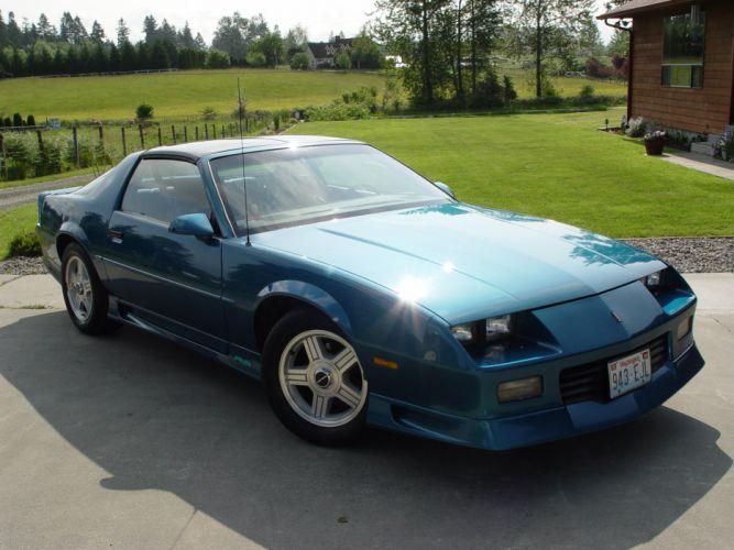 1992 Chevrolet Camaro muscle wallpaper