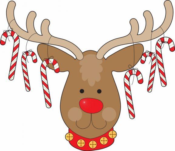 CHRISTMAS holiday reindeer wallpaper
