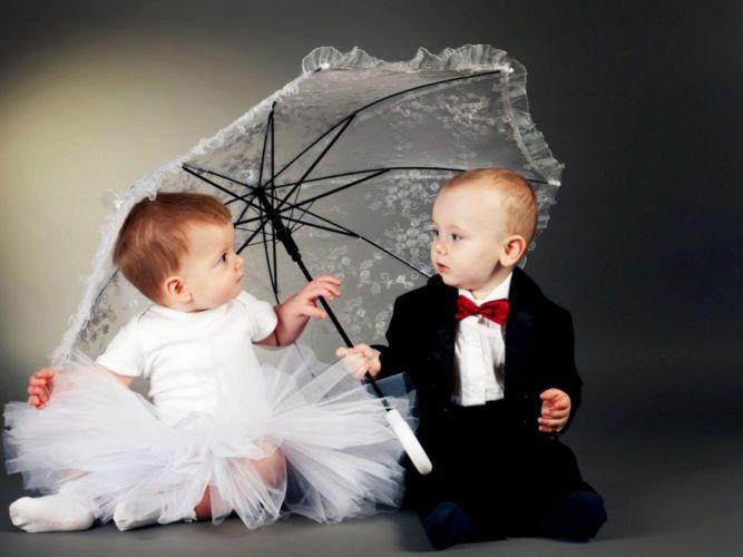 Love - Children cute wallpaper