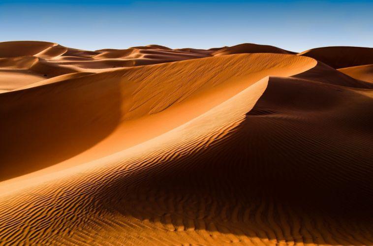 Nature deserts landscapes wallpaper