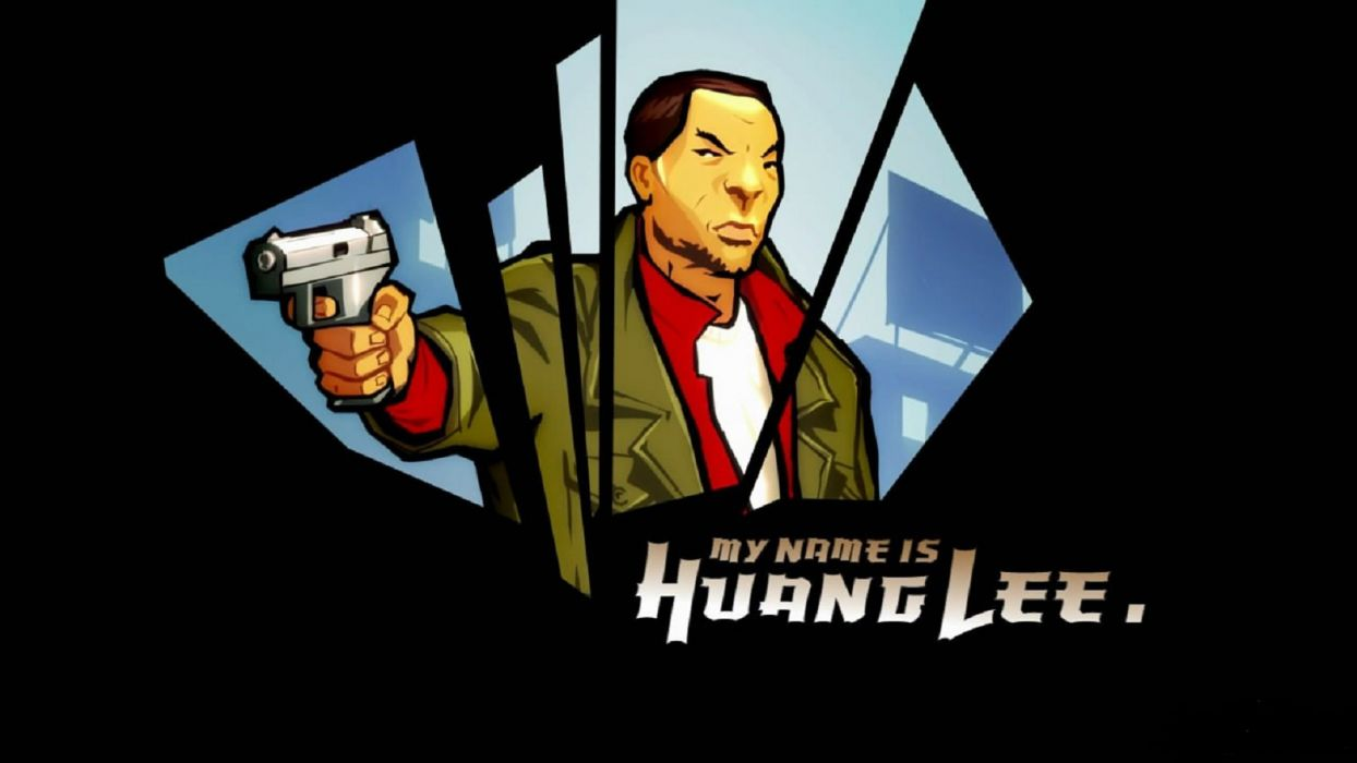GTA grand theft auto chinatown wars video game huang lee wallpaper