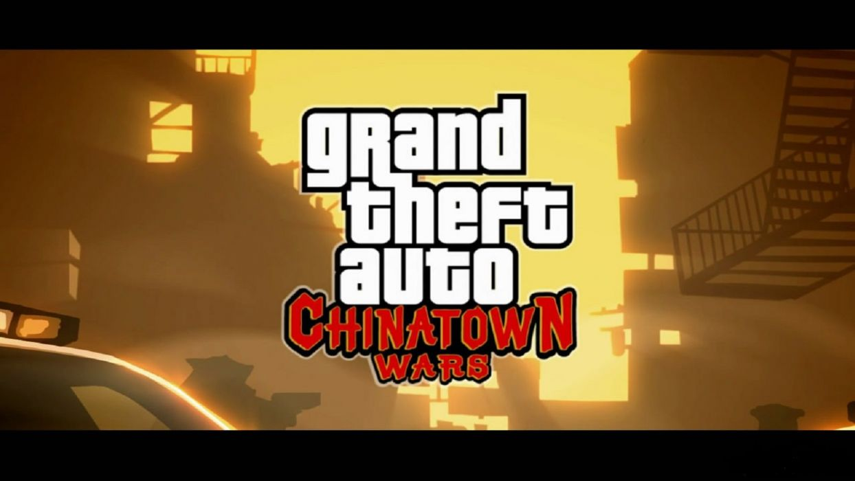 GTA grand theft auto chinatown wars video game wallpaper