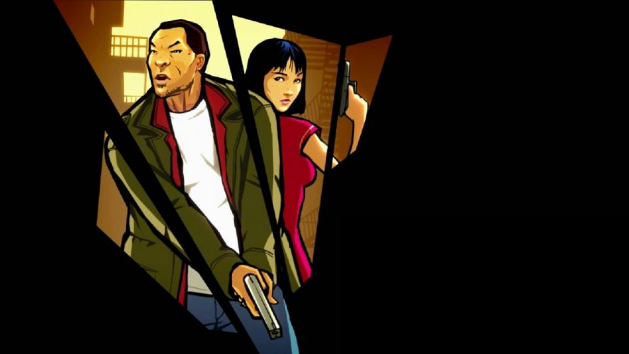 GTA grand theft auto chinatown wars video game huang lee ling shan wallpaper
