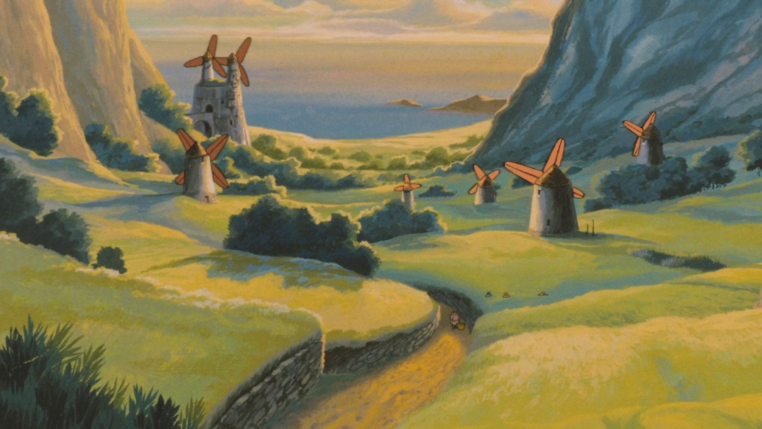 NAUSICAA-VALLEY-WIND anime fantasy adventure nausicaa ...