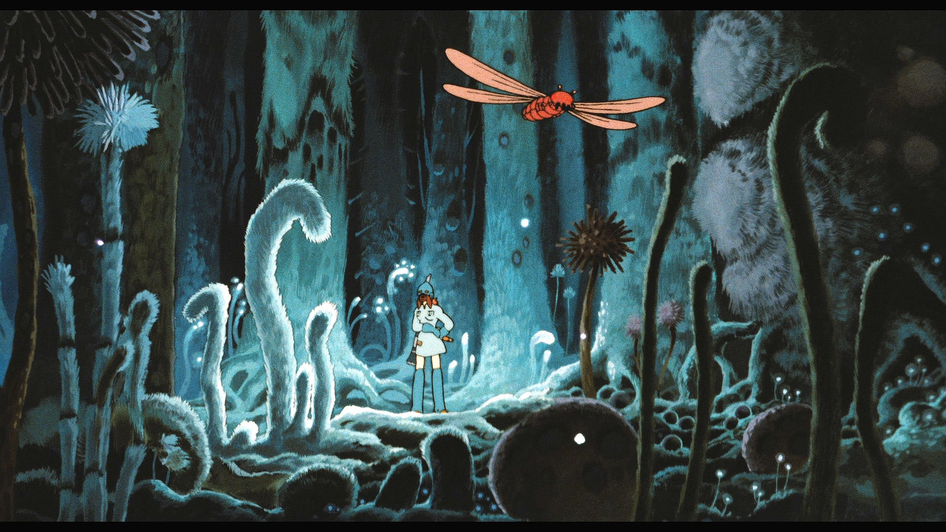 The Valley of the Wind - Nausicaa of the Valley of the ... |Nausicaa Studio Ghibli Wallpaper
