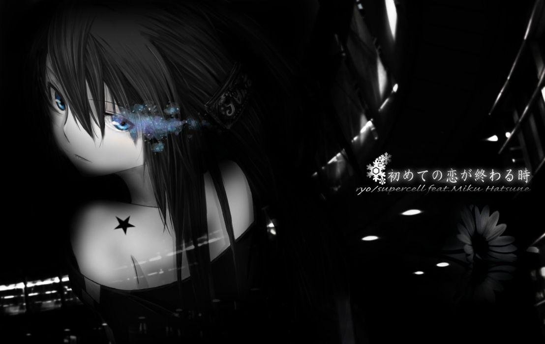 Crossover anime girl cute beautiful wallpaper