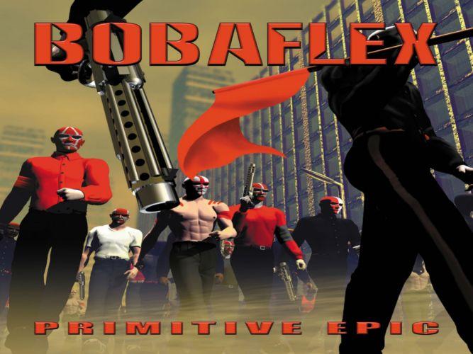 BOBAFLEX nu-metal heavy metal melodic dark anarchy wallpaper