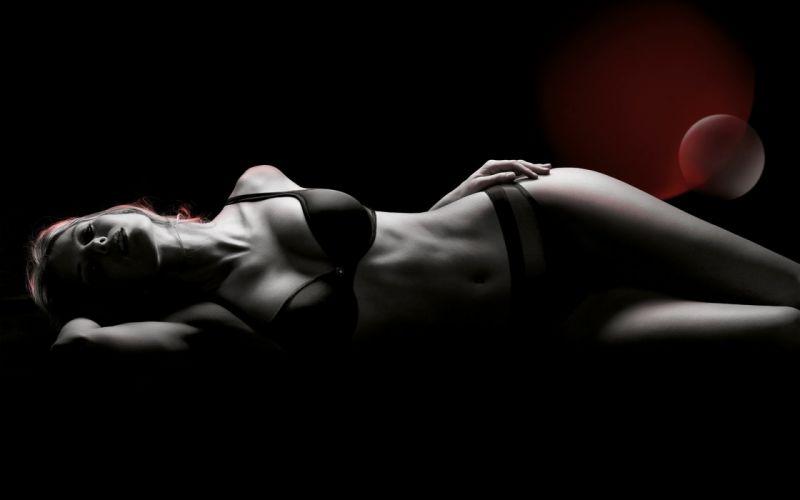 SENSUALITY - girl photoshop black wallpaper
