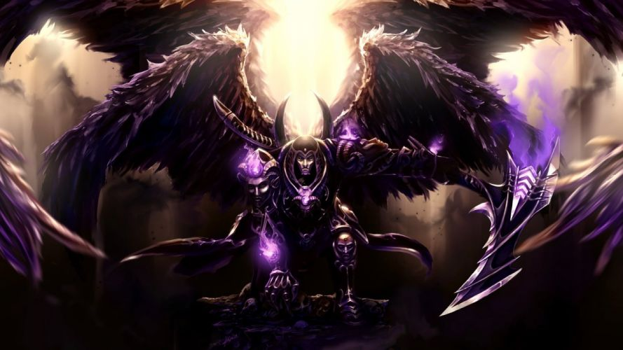 Thanatos from Smite wallpaper
