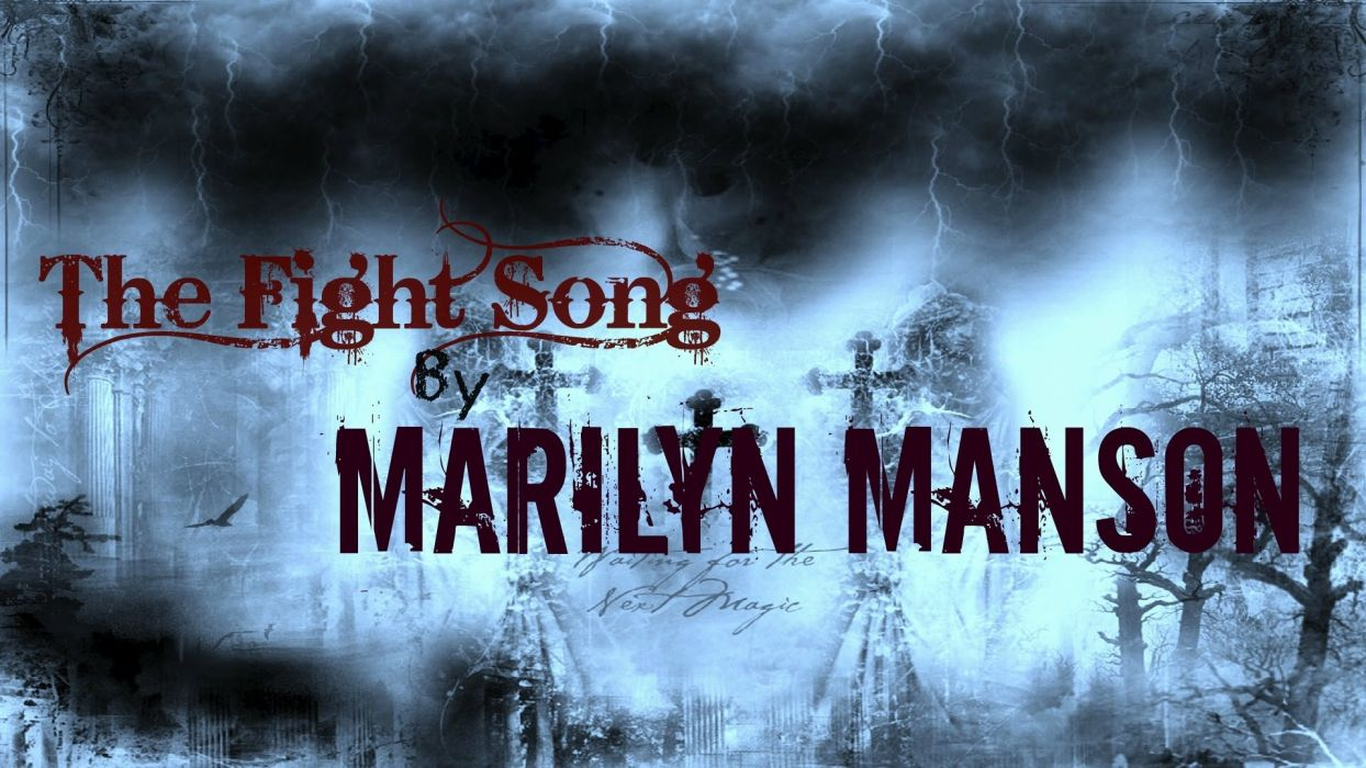 MARILYN MANSON industrial metal heavy shock glam gothic wallpaper