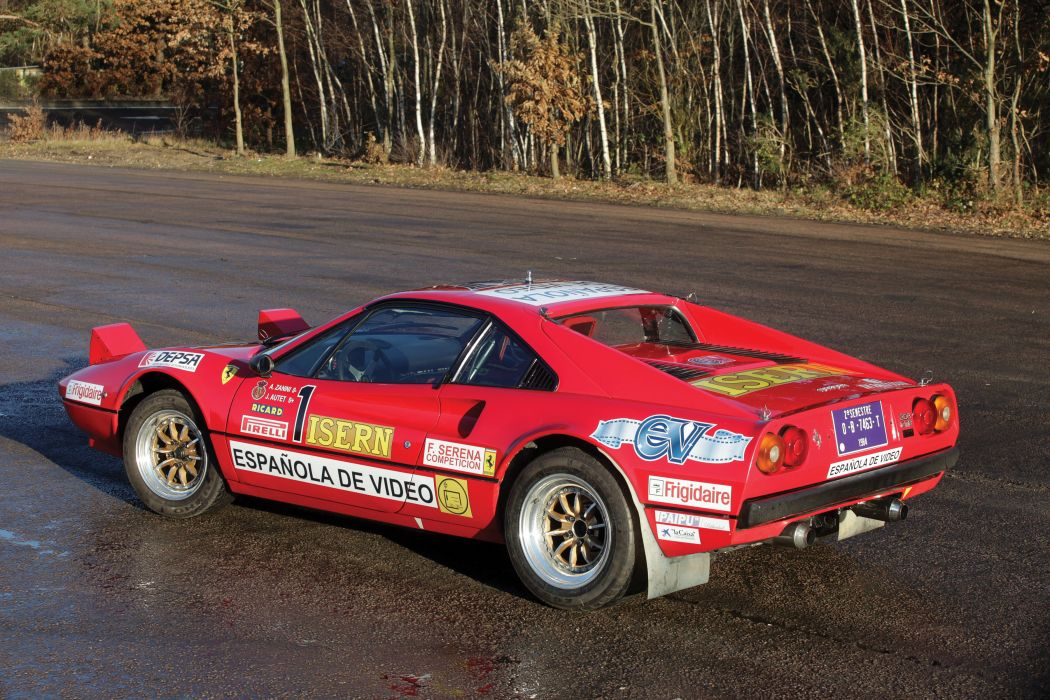 1982-85 Ferrari 308 GTB Group-B Michelotto race racing rally supercar wallpaper