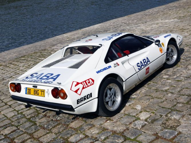 1982-85 Ferrari 308 GTB Group-B Michelotto race racing rally supercar wallpaper