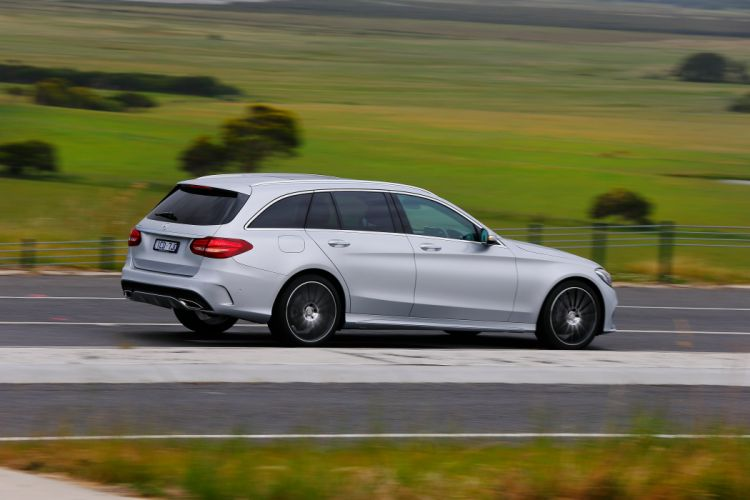 2015 Mercedes Benz C250 AMG Line Estate AU-spec S205 stationwagon luxury wallpaper