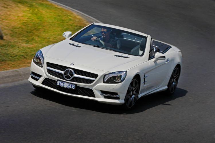 2015 Mercedes Benz SL400 AMG Sports Package AU-spec (R231) luxury wallpaper