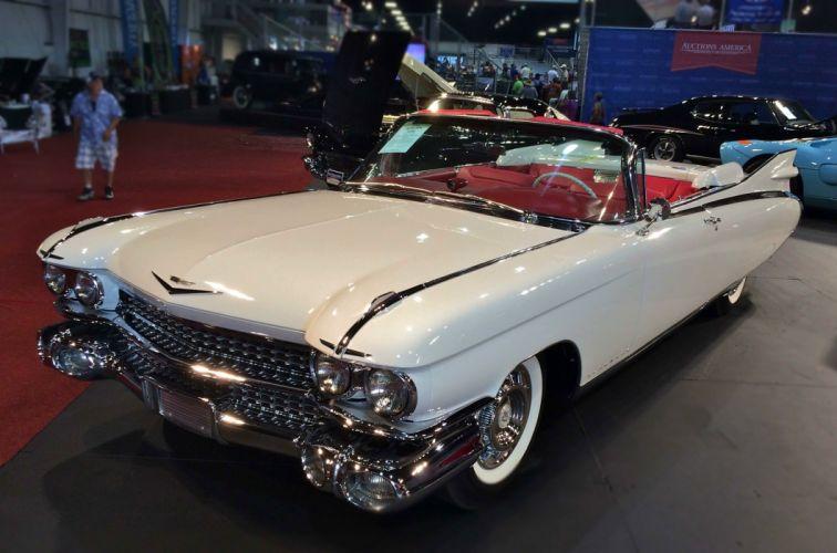 1959 Cadillac Eldorado luxury retro wallpaper