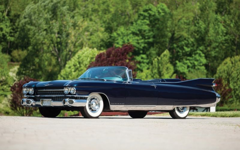 1959 Cadillac Eldorado luxury retro wallpaper