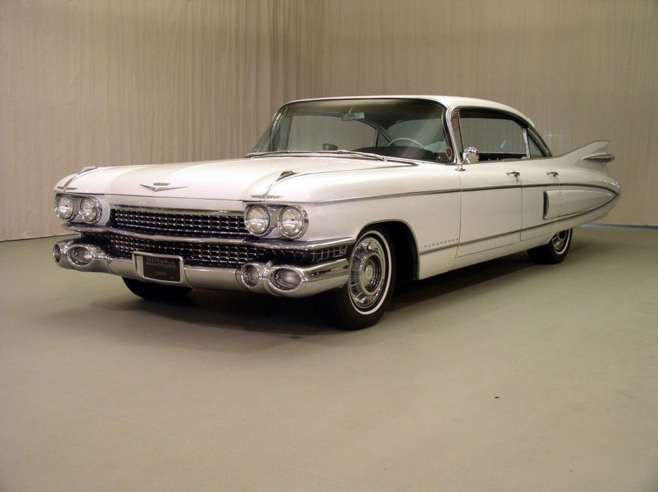1959 Cadillac Fleetwood luxury retro wallpaper