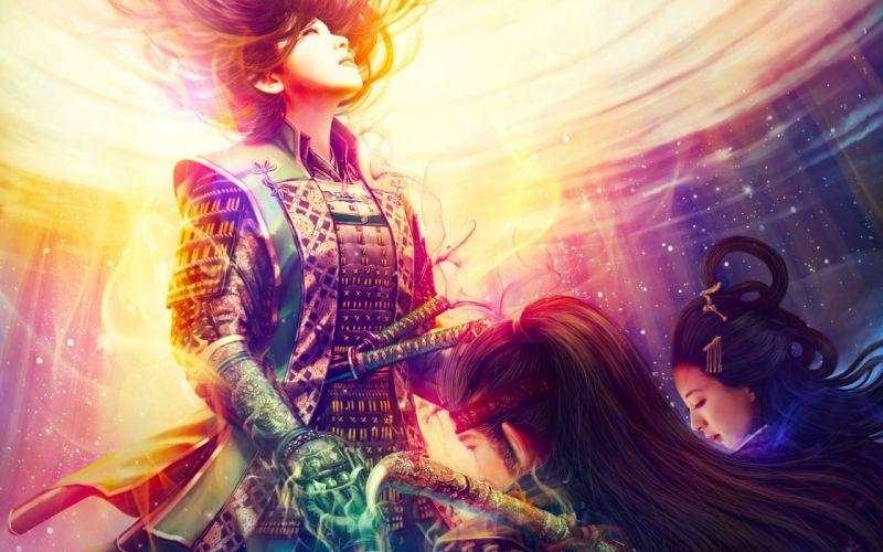 asian girl game fantasy L5R Legend-of-the-Five-Rings fantasy online cardga wallpaper