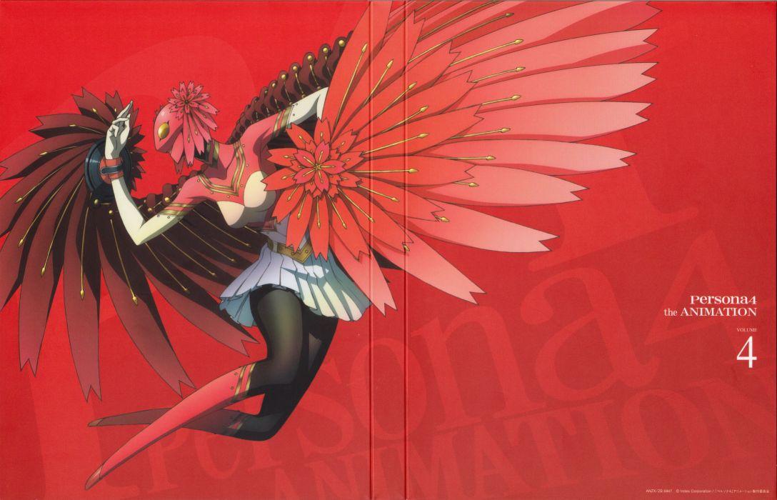 anime Cover series Shin Megami Tensei: Persona 4 wallpaper