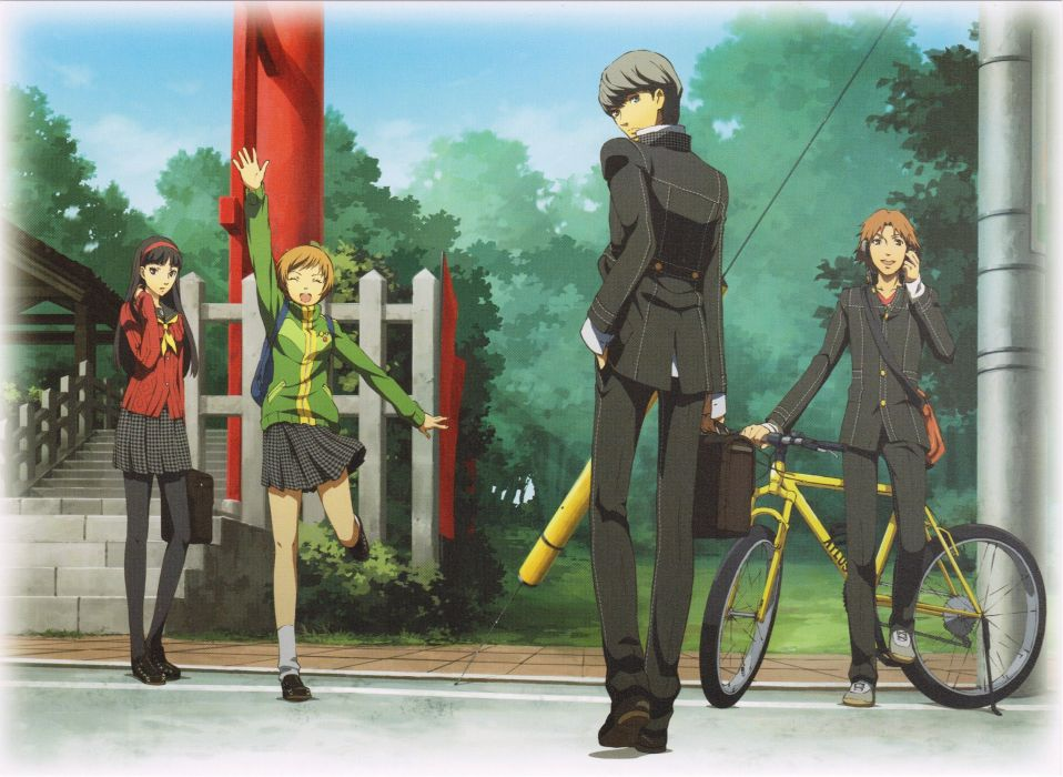Shin Megami Tensei: Persona 4 shin megami tensei  wallpaper