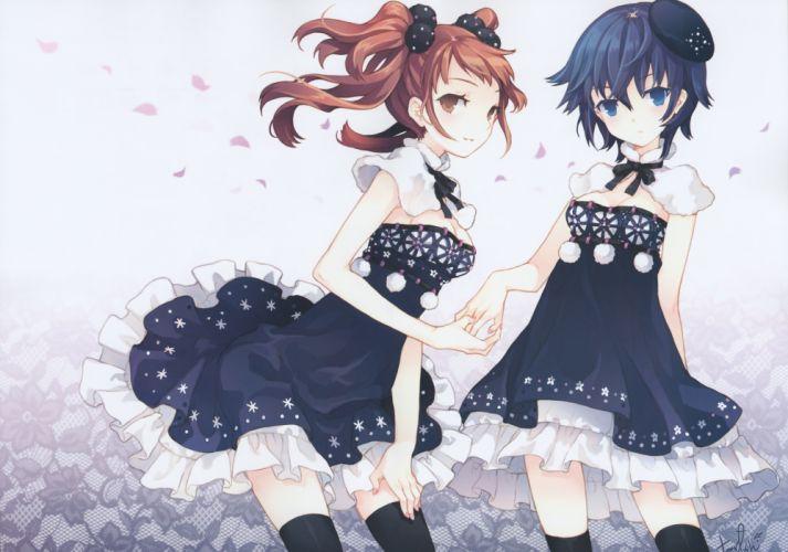Rise shin megami tensei persona anime girls dress Shirogane wallpaper