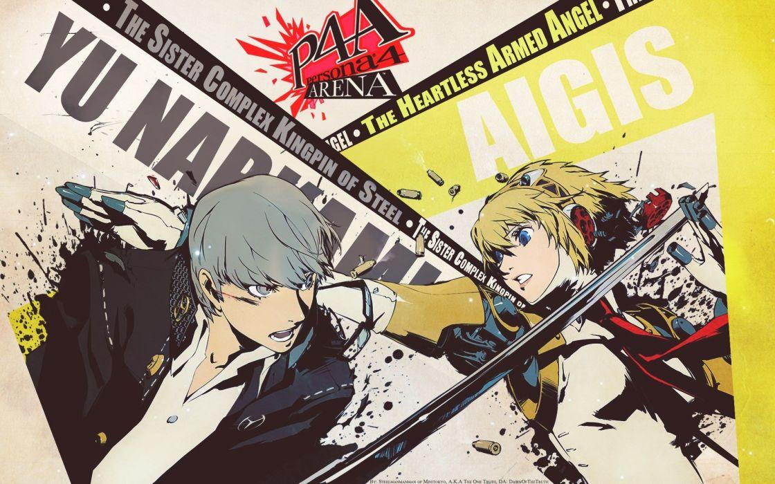 anime Company international aegis shin megami  wallpaper