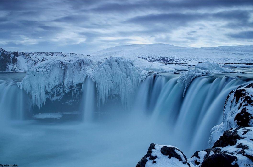 Godafoss iceland Godafoss Iceland waterfall wallpaper