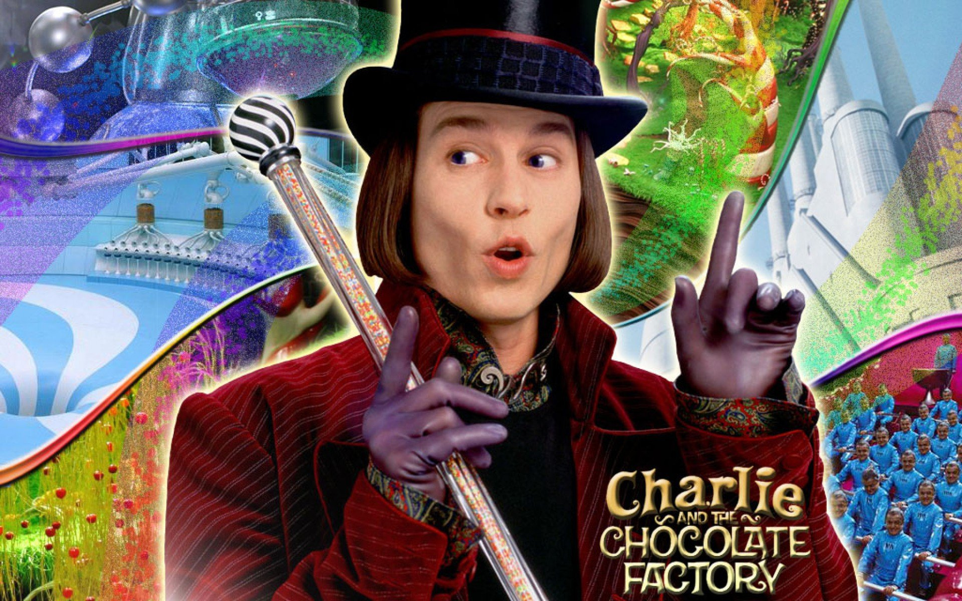 Charlie Chocolate Factory Depp