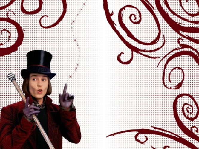 CHARLIE-CHOCOLATE-FACTORY depp adventure comedy family fantasy charlie chocolate factory musical wallpaper