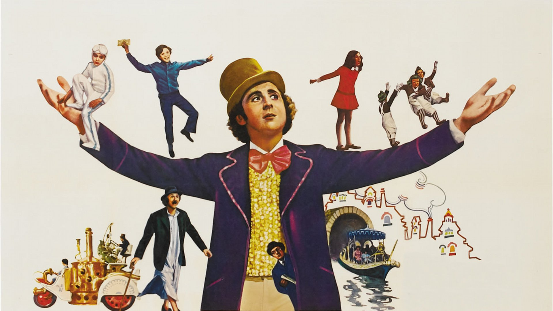willy wonka chocolate factory charlie adventure family