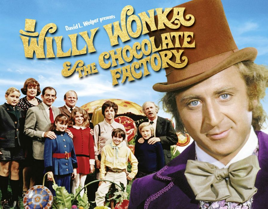 WILLY WONKA Chocolate Factory charlie adventure family comedy wallpaper