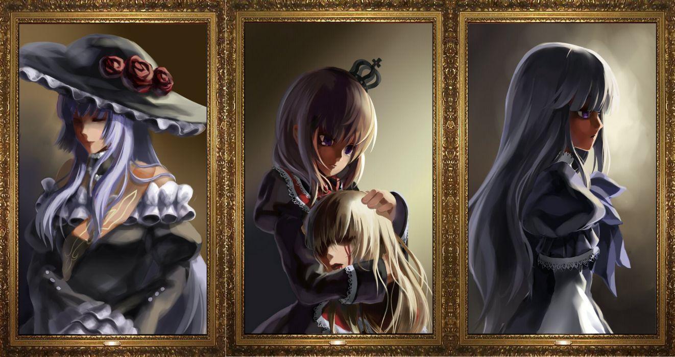 Umineko no Naku Koro ni Ushiromiya Rosa Virgilia Frederica Bernkastel wallpaper