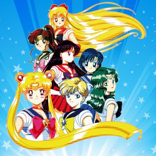 Bishoujo Senshi Sailor Moon Sailor Senshi Team wallpaper