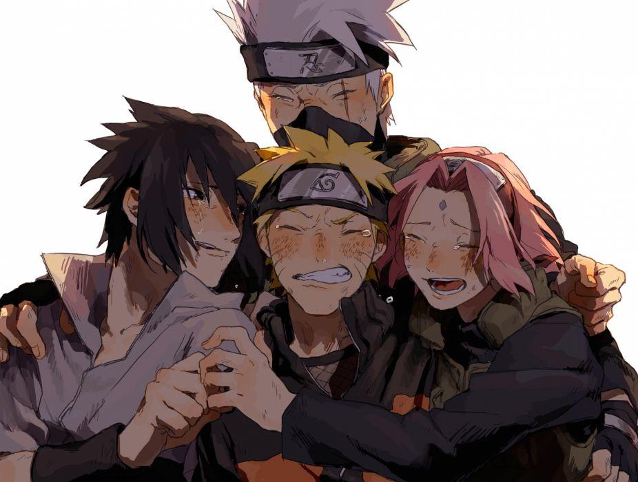 Naruto Hatake Kakashi Uchiha Sasuke Uzumaki Naruto Haruno Sakura
