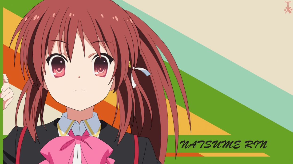 Little Busters natsume rin wallpaper