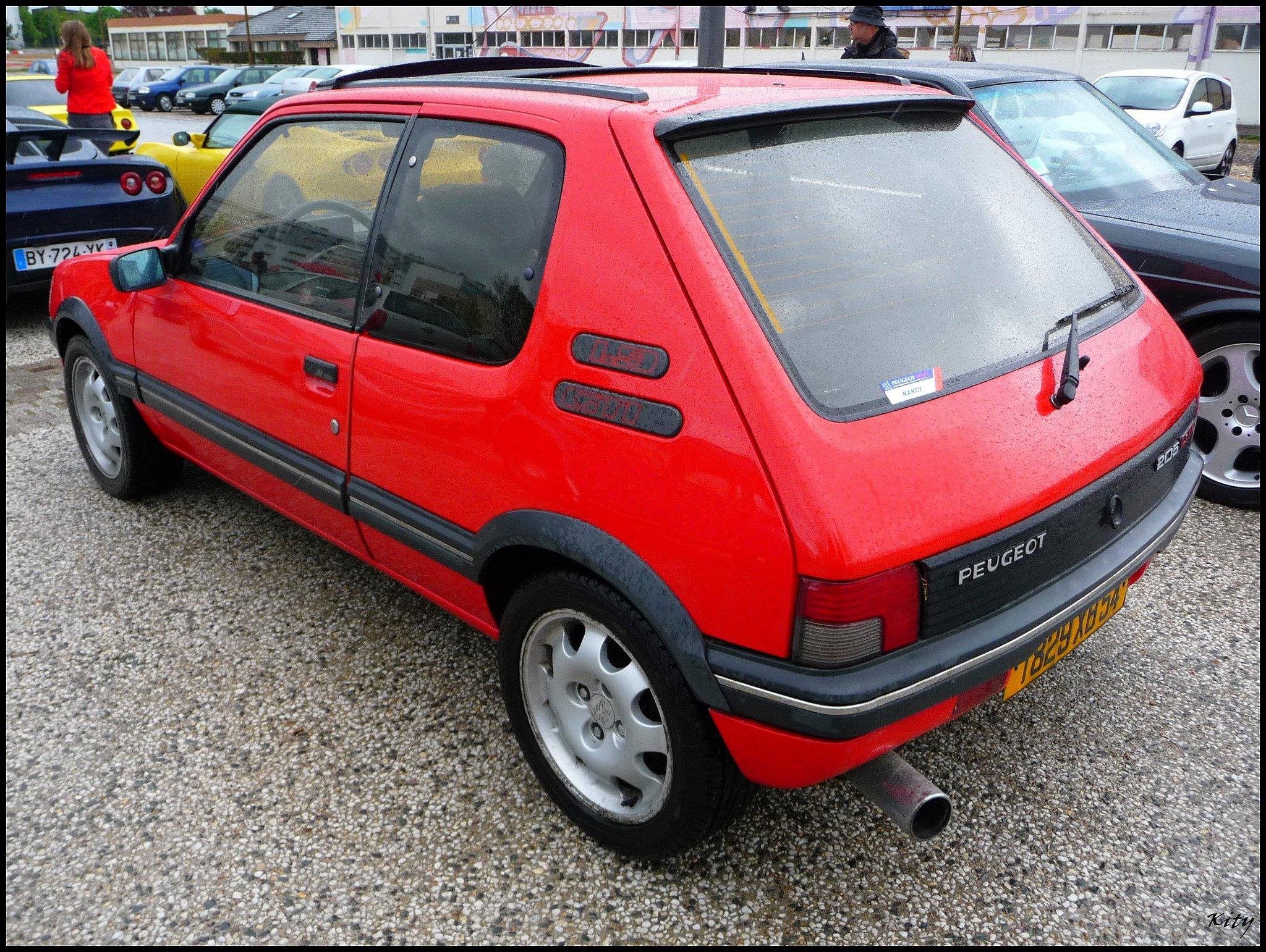 peugeot 205 gti cars coupe french rouge red wallpaper 2048x1541 562508 wallpaperup. Black Bedroom Furniture Sets. Home Design Ideas