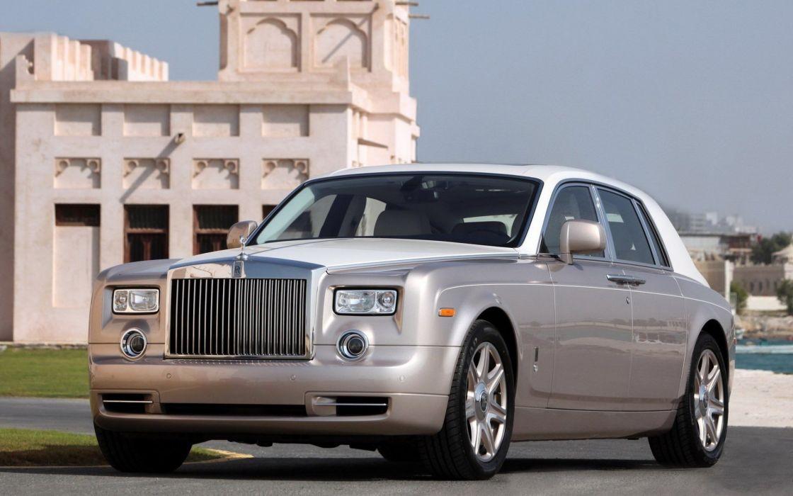 rolls royce phantom car vehicle wallpaper