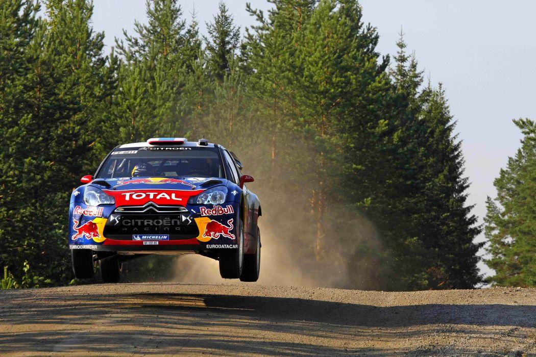 citroen ds3 rally car vehicle wallpaper