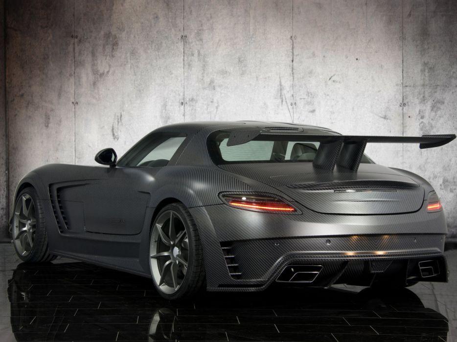 mercedes benz sls carbon mansory car vehicle wallpaper